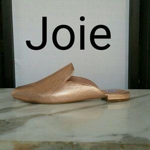 JOIE 'JADZIA' NEW ROSE GOLD FLAT MULES SIZE 7